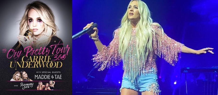 Carrie Underwood at PNC Arena