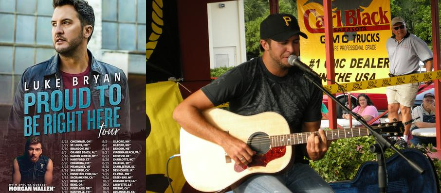 Luke Bryan at Coastal Credit Union Music Park