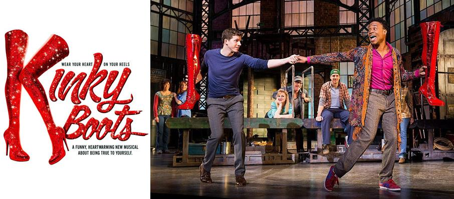Kinky Boots at Raleigh Memorial Auditorium