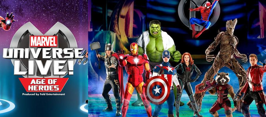 Marvel Universe Live! at PNC Arena