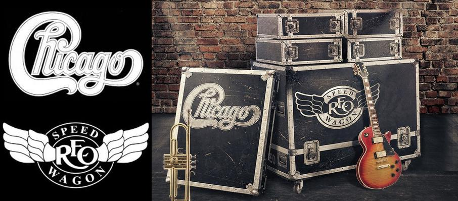 Chicago & REO Speedwagon at Walnut Creek Amphitheatre