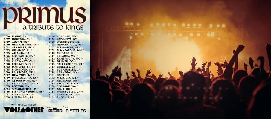 Primus at Red Hat Amphitheater