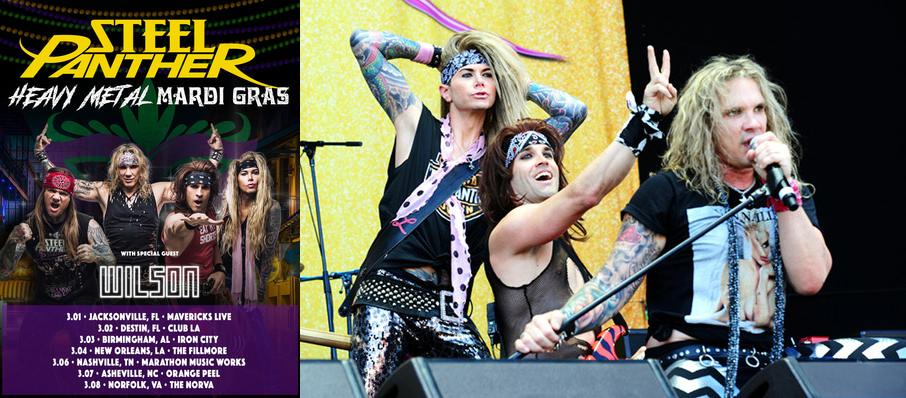 Steel Panther at The Ritz
