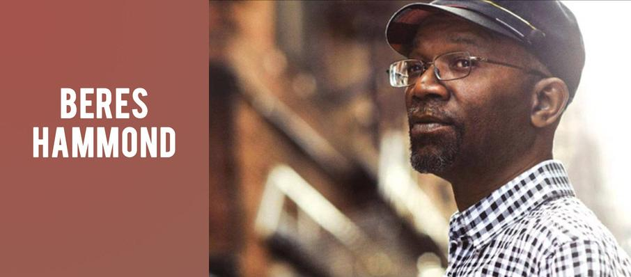 Beres Hammond at Lincoln Theatre