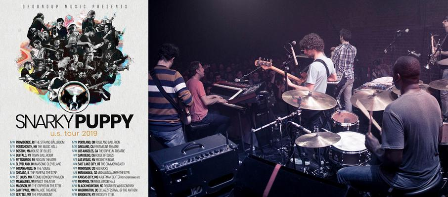 Snarky Puppy at The Ritz