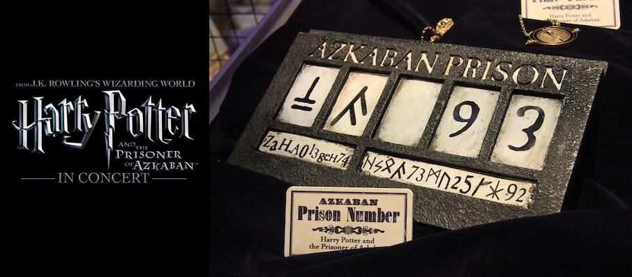 Harry Potter and the Prisoner of Azkaban in Concert at Raleigh Memorial Auditorium