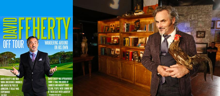 David Feherty at Meymandi Concert Hall