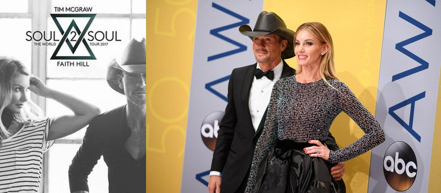 Tim McGraw and Faith Hill at PNC Arena