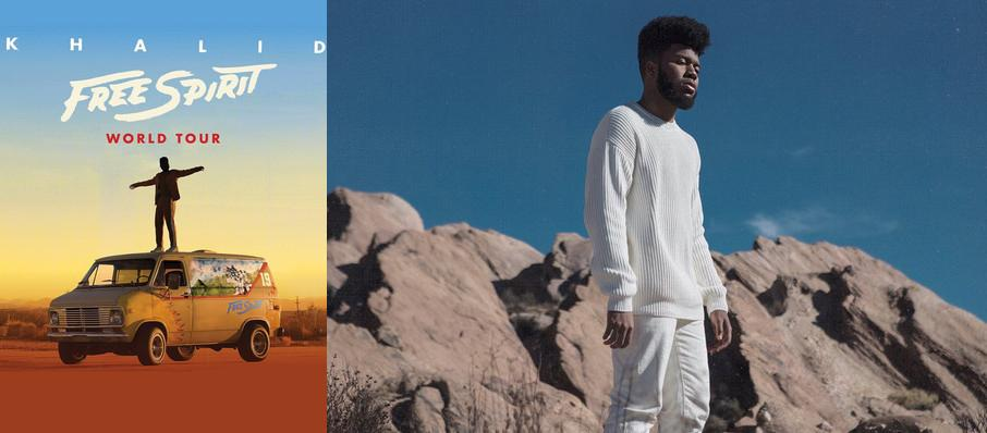 Khalid at Red Hat Amphitheater