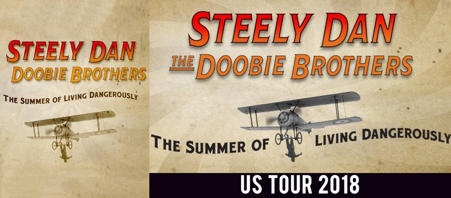 Steely Dan and The Doobie Brothers at Walnut Creek Amphitheatre Circus Grounds