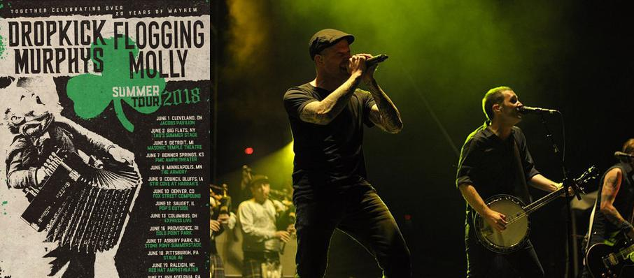 Dropkick Murphys and Flogging Molly at Red Hat Amphitheater