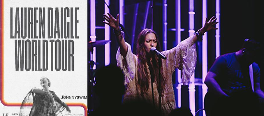 Lauren Daigle at Raleigh Memorial Auditorium