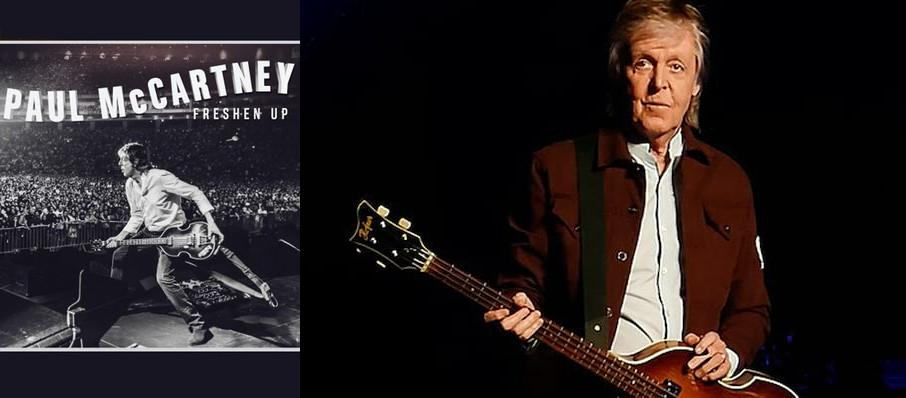 Paul McCartney at PNC Arena