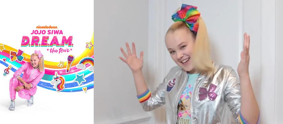 Jojo Siwa at PNC Arena