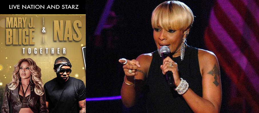 Mary J Blige and Nas at Coastal Credit Union Music Park