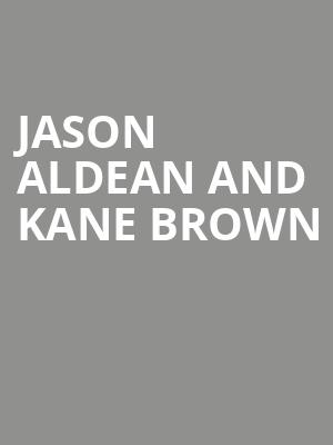 Jason Aldean and Kane Brown at Coastal Credit Union Music Park