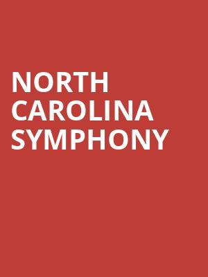North Carolina Symphony at Raleigh Memorial Auditorium