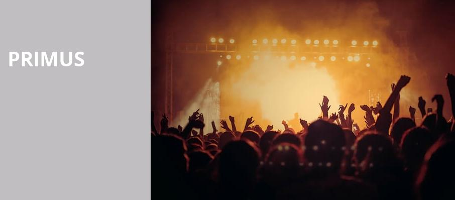 Primus, Red Hat Amphitheater, Raleigh