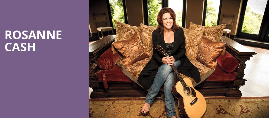 Rosanne Cash, Fletcher Opera Theatre, Raleigh