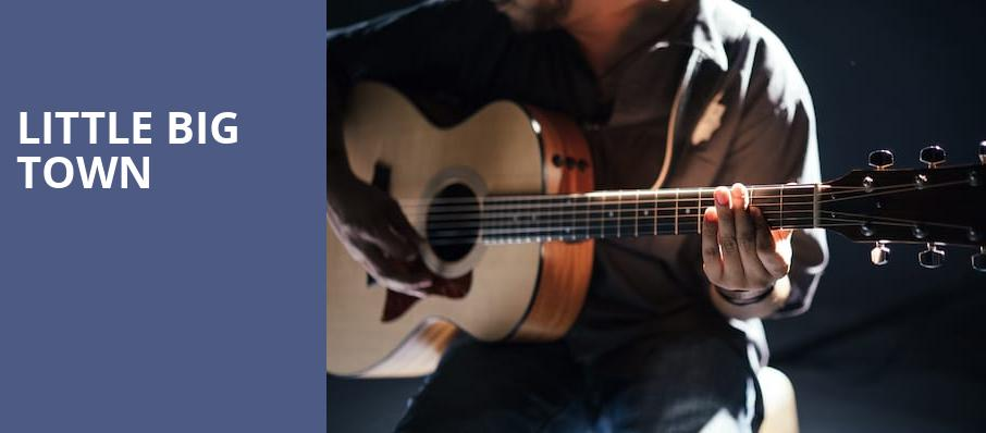 Little Big Town, Booth Amphitheatre, Raleigh