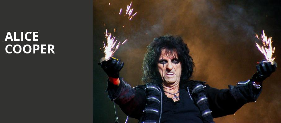 Alice Cooper, Raleigh Memorial Auditorium, Raleigh
