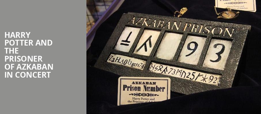 Harry Potter and the Prisoner of Azkaban in Concert, Raleigh Memorial Auditorium, Raleigh