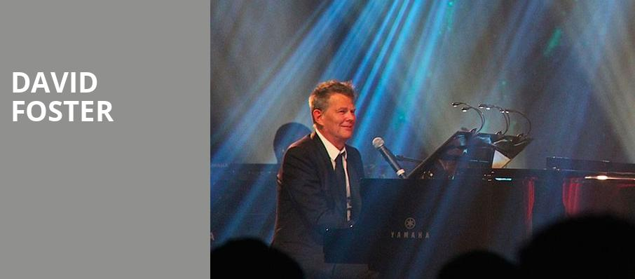 David Foster, Raleigh Memorial Auditorium, Raleigh