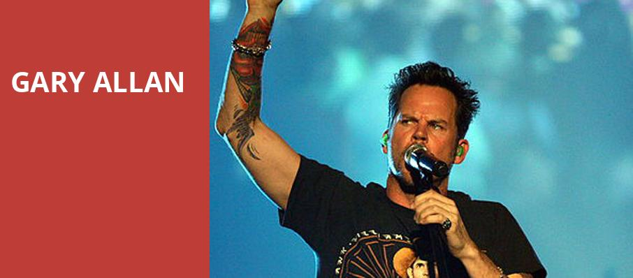 Gary Allan, Raleigh Memorial Auditorium, Raleigh