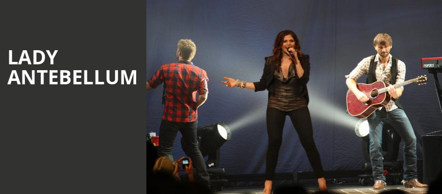 Lady Antebellum, Coastal Credit Union Music Park, Raleigh