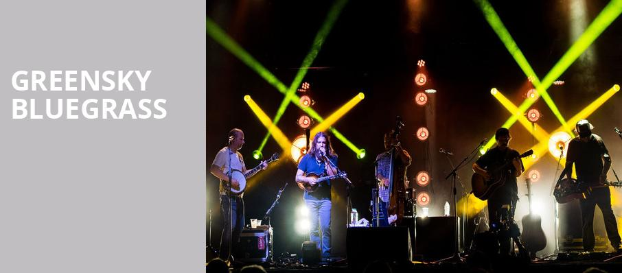 Greensky Bluegrass, Booth Amphitheatre, Raleigh