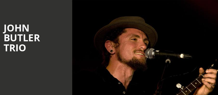 John Butler Trio, North Carolina Museum Of Art, Raleigh