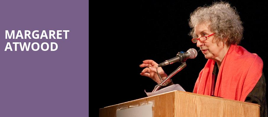 Margaret Atwood, Lincoln Theatre, Raleigh