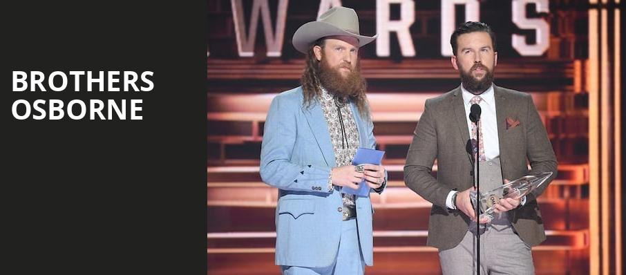 Brothers Osborne, Red Hat Amphitheater, Raleigh