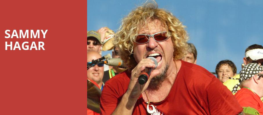 Sammy Hagar, Coastal Credit Union Music Park, Raleigh