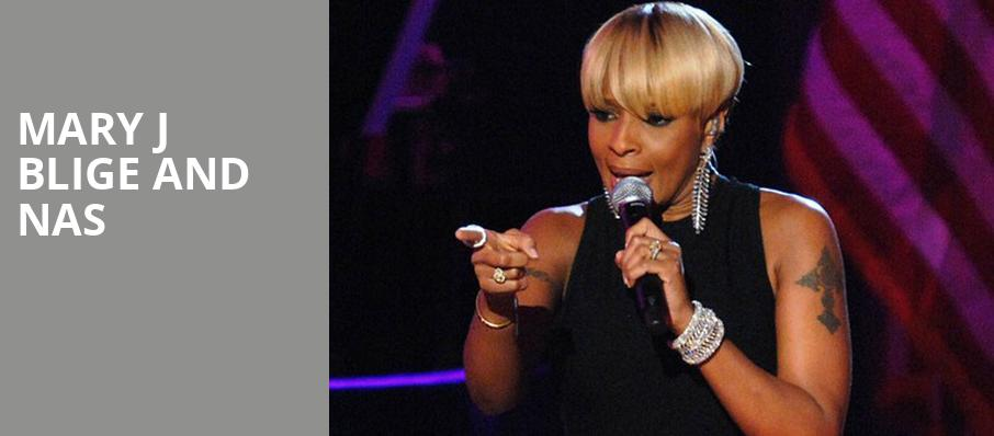 Mary J Blige and Nas, Coastal Credit Union Music Park, Raleigh