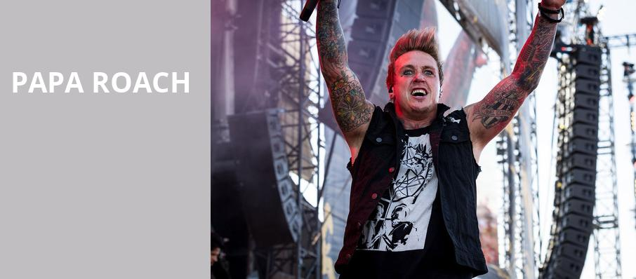 Papa Roach, Red Hat Amphitheater, Raleigh