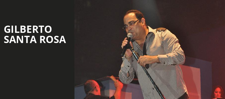 Gilberto Santa Rosa, Raleigh Memorial Auditorium, Raleigh