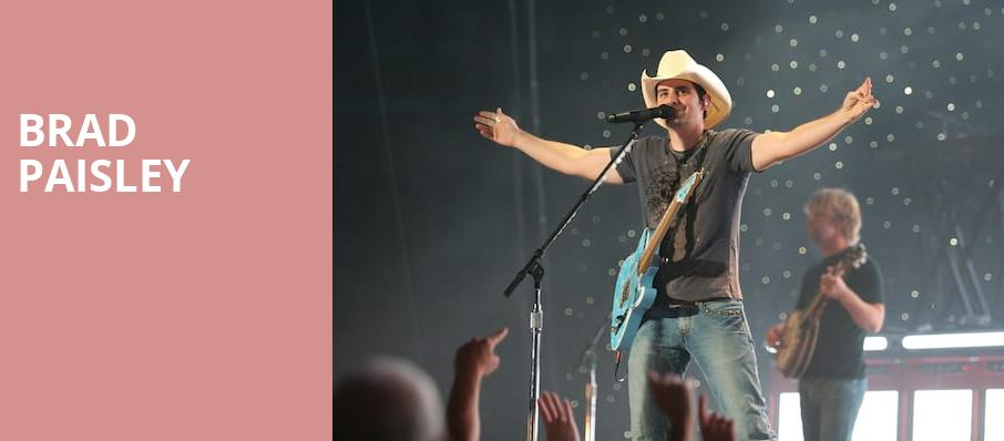 Brad Paisley, Coastal Credit Union Music Park, Raleigh