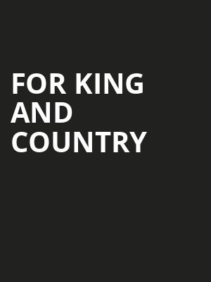 For King And Country Poster
