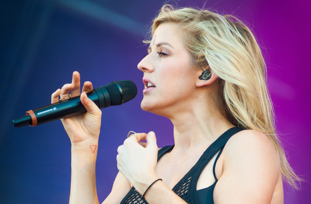 Ellie Goulding, Red Hat Amphitheater, Raleigh