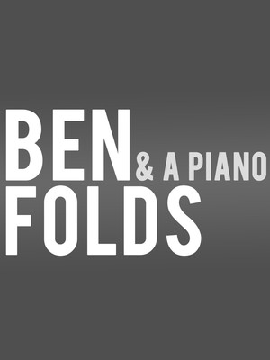 Ben Folds, Raleigh Memorial Auditorium, Raleigh
