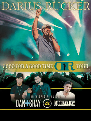 Darius Rucker Dan and Shay Michael Ray, Time Warner Cable Music Pavilion, Raleigh